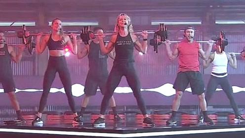bp112有氧杠铃课程 运动健身