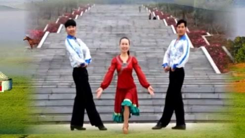 凤凰六哥广场舞《吻你》优美大气中三舞,后含详细教学一看就会