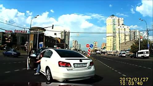 外国最新车祸集锦