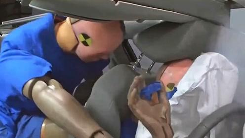 汽车后座更安全?这段测试视频让人震惊
