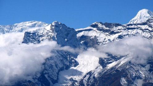 仙境不过如此!新疆玉湖雪山云海环绕 壮观至极!
