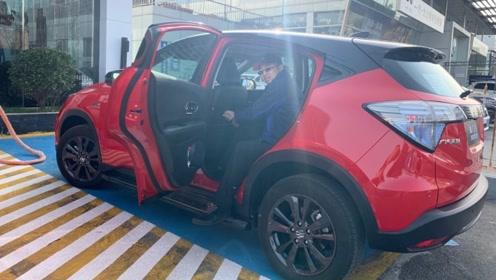 广汽本田首款纯电动SUV VE-1空间体验