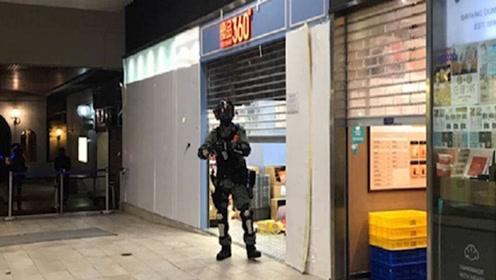"""香港暴徒又造谣!抹黑防暴警""""偷可乐"""" 店家放出监控还警员清白"""