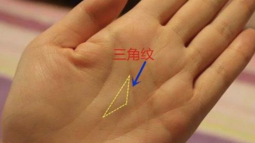 """农村老话""""三角纹在手,富到九十九""""是什么意思?你手上有吗?"""