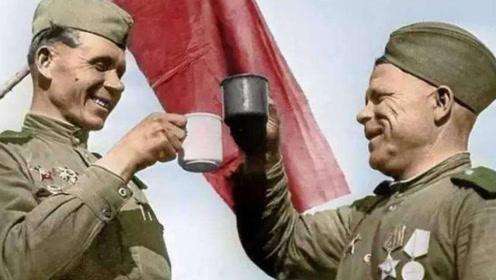 二战时的苏联伙食:可以没有面包和肉,但不能没有烟和酒
