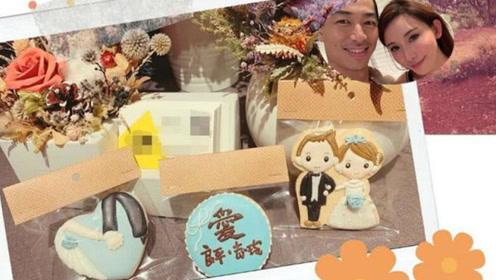 林志玲婚宴甜食首曝光 新郎新娘卡通形象很甜蜜