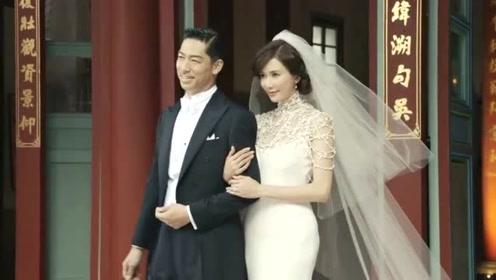 林志玲哥哥一家现身婚礼现场 嫂子气质身材俱佳不输女星