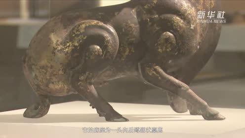 寻宝中华 | 鎏金铜鹿灯
