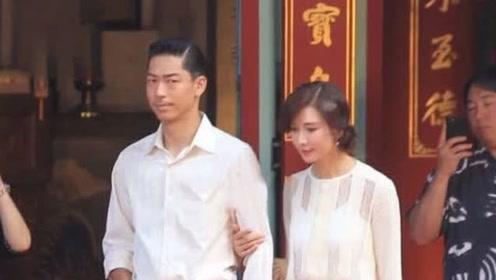 林志玲夫妇现身为婚礼彩排,女神一手操办太厉害