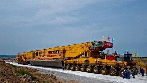 中国的造桥神车,一起来见识下,欧洲发达国家都想进口使用
