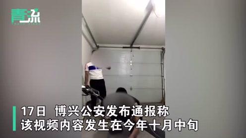 通报:两男子持扳手在车库内围殴他人,警方已抓获一人