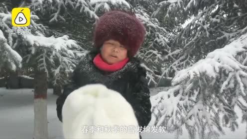气温降到零下28度,东北大妈雪地洗貂:洗得干净不伤皮