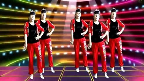 华美舞动广场舞《白来了了白来》DJ动感超酷时尚现代舞