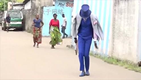 """非洲的""""假土豪"""",明明很穷,却坚持穿名贵衣服去贫民窟炫耀"""