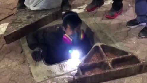 讽刺!香港理大内暴徒跳渠逃跑发现积水太深 狼狈钻出后报警求助