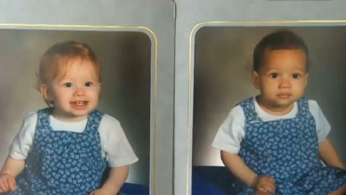 女生产下一对双胞胎,而她们的肤色是一黑一白,这是怎么回事?