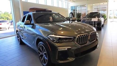 2020款宝马X6到店,车长近5米,颜值和配置升级,还要啥奥迪Q8