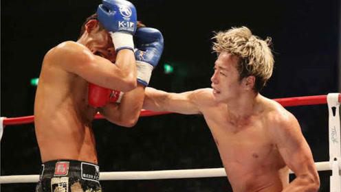 日本第一武尊霸气一战,凶猛对拼狂胜对手!