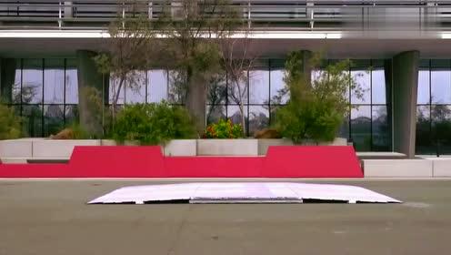 2018奥迪A8驱动辅助系统,AI主动悬架启动演示