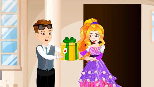 帅哥准备神秘大礼去找女友约会,打开礼物开心极了,盒子里究竟是什么东西!