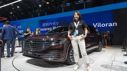 广州车展:让GL8最难受的对手 实拍大众Viloran