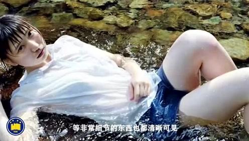 """日本人画了一幅""""水中少女"""",当镜头放大几十倍后,不敢相信这是一幅画"""