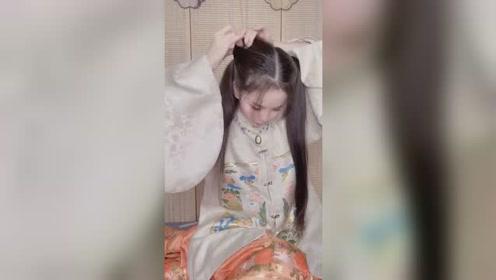 非常温柔端庄的发型,简单又好看,秒变端庄温婉大小姐!