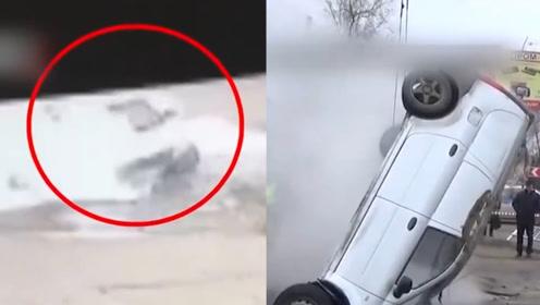"""可怕!俄罗斯两男子驾车途中 掉入热水坑被活活""""煮死"""""""