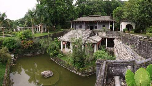 广西一座豪华的私人庄园,距今已有百年历史,保存完好却游客不多