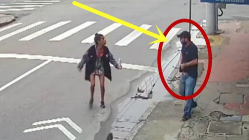 男子因厌烦女子纠缠乞讨,竟要了人家的命,这种人太没人性了!