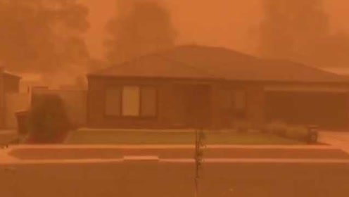 不是滤镜!橙色沙尘暴席卷澳洲小镇,居民:仿佛世界末日