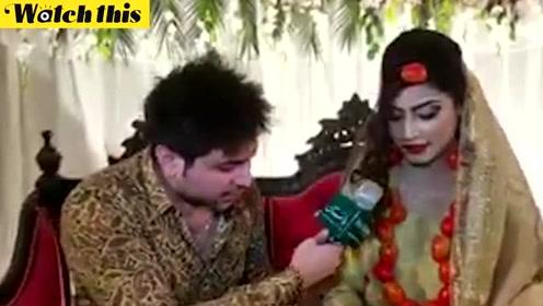 巴基斯坦新娘戴番茄首饰出嫁 抗议番茄涨价