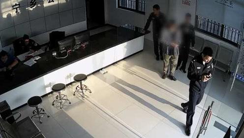 出狱1个月再作案,惯偷回警局拿出狱遗留物品时被抓
