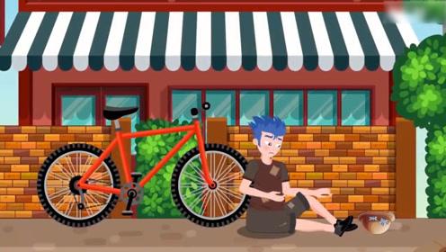 男孩准备买一辆摩托车,却把钱都给了流浪汉,最后只能买自行车!