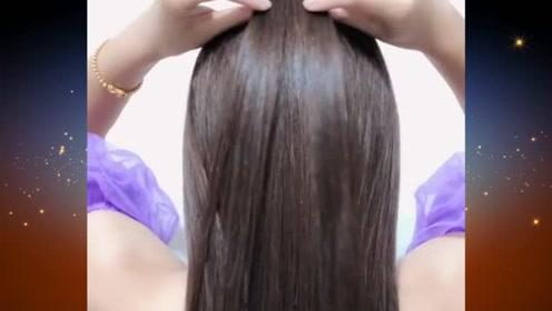 随手扎都能很美的扎发发型,简约时尚又易学,你学会了吗