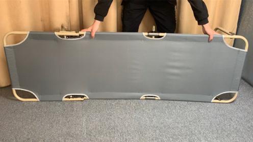 开箱测评折叠午睡床,30多元还带档位调节,承重150斤,值吗?