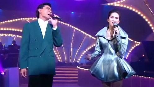 这段视频太珍贵,梅艳芳和刘德华同台演唱《绝望的笑容》,配一脸!