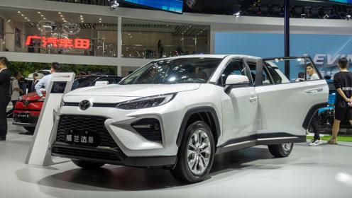 2019广州车展:实拍广汽丰田全新威兰达2.0L版本
