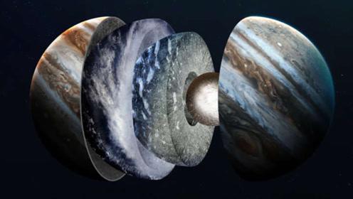 木星是个气态行星,如果把它的气全吹走,它的核心长什么样?