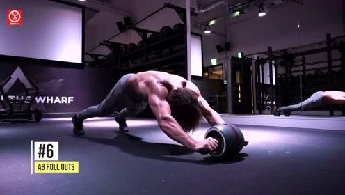 21种高难度的腹肌进阶训练,快来检测,你能做到第几个