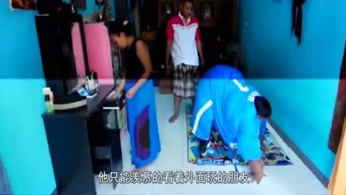 """印尼减肥最""""成功""""男孩,2年减掉204斤,减肥后样子惊呆众人!"""