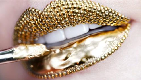 """世界上最傲娇的""""嘴唇"""",镶嵌了78颗钻石,价值高达百万人民币"""