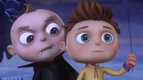 小孩假扮吸血鬼吓唬别人,吓到了很多人,最后竟然遇到真的吸血鬼!