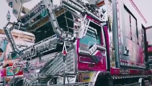 日本大叔改装卡车,从里到外都是惊喜,改装费够买好几辆车!