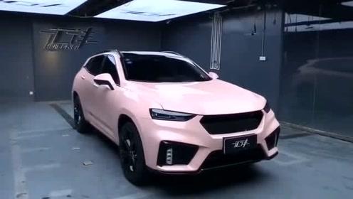 国产车中的颜值担当,配置也深得人心,是一款男女老少都喜欢的车!