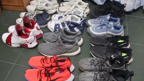 球鞋分享:中底缓震,我把家里所有鞋子都拿出来测了一遍!