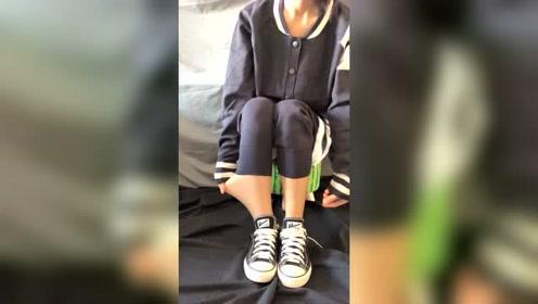 女生冬天这样穿裤子你能理解吗?我都想把她锁家里