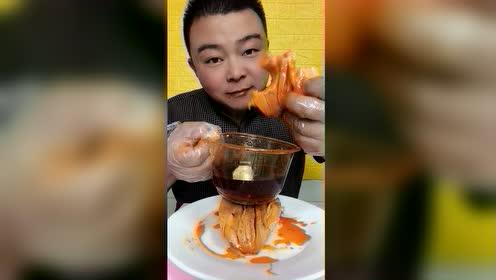 海鲜吃播:大澳鲍好香