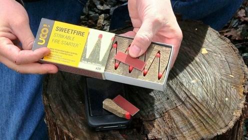 世界卖得最贵的火柴,40块钱一盒每根能烧400秒,一上市就卖断货了!