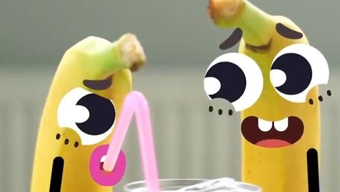 趣味涂鸦:涂鸦的美好生活,香蕉宝贝的约会!